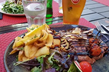 An excellent steak lunch, Casa do Prego, Lagos