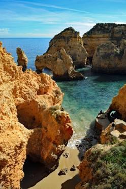 Cliffs at Farol da Ponta da Piedade, Algarve