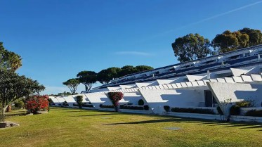 Quinta do Lago Country Club rear lawn