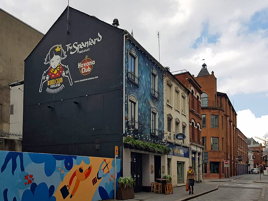 The Spaniard - one fo the best bars in Belfast, Northern Ireland