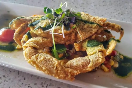 Soft-shelled crab, a seasonal delicacy in the Low Country