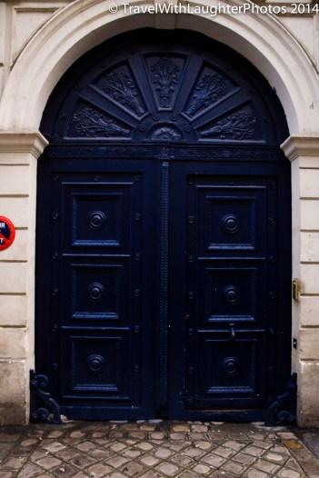 Great blue door. Wish I took more pics of the doors.