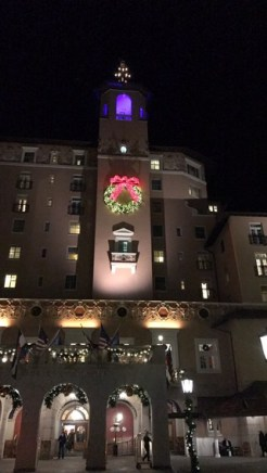 The front of the Broadmoor!