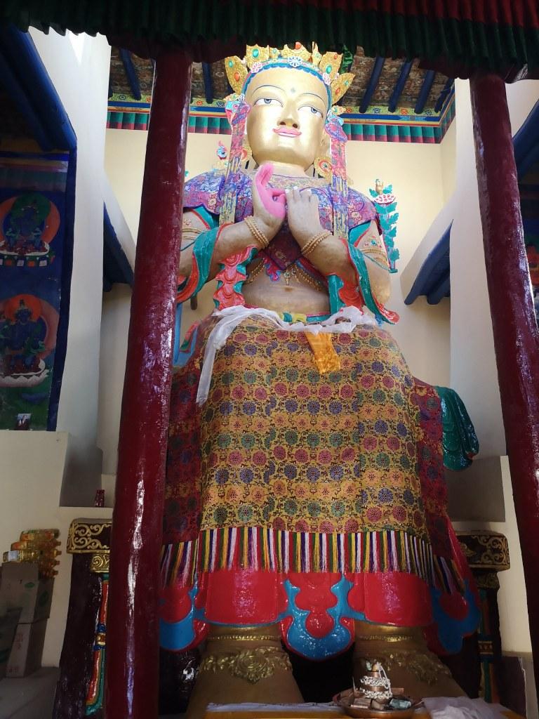 【2019印度自助】列城市區一日遊:列城王宮+香提佛寺 9