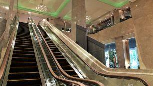 Review Sheraton Miyako Osaka Rolltreppe Lobby