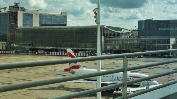 Brussels Airlines Lounge The Loft Brüssel Non-Schengen Vorfeldblick
