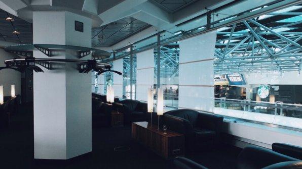 Lufthansa Senator Lounge Berlin Flughafen Tegel