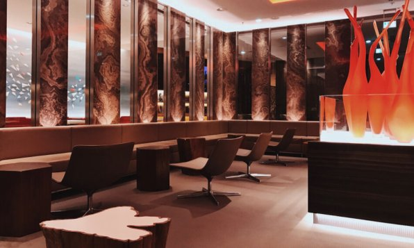 Air Canada Maple Leaf Lounge Frankfurt Mittelbereich Ahorn