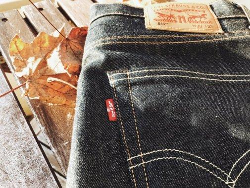 Jeans - Levis 512 Die perfekte Jeans Label