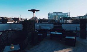 Lindner Hotel City Plaza Köln Terrasse First Class Lounge