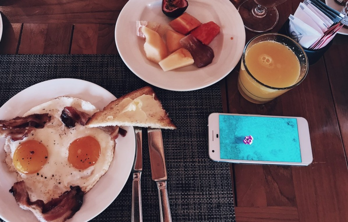 Sunday Hangover No. 34 JA Manafaru Maldives Breakfast
