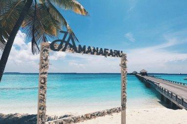 Review JA Manafaru Maldives JA Manafaru Bilderrahmen Jetway