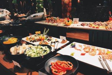 Review JA Manafaru Maldives Dinner Buffet