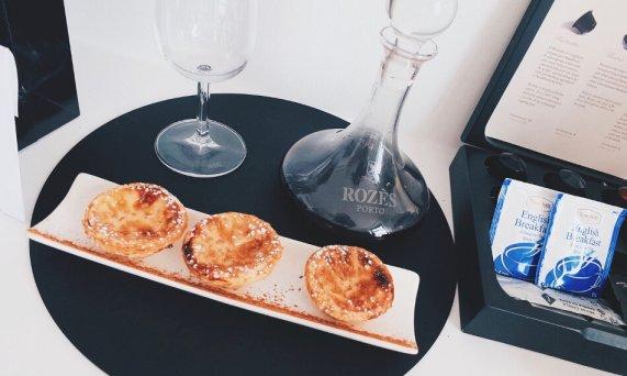 Farol Hotel Cascais Portugal Treatment Portwein Pasteis de Nata