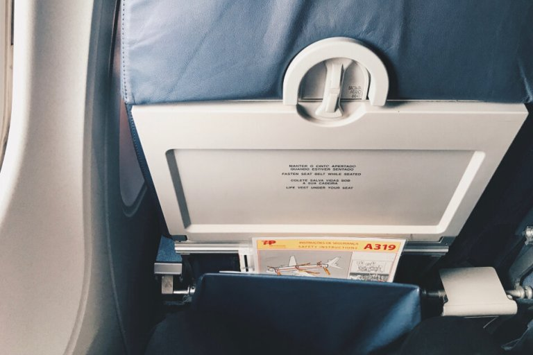 TAP Business Class Frankfurt - Lissabon Sitzabstand Airbus A319