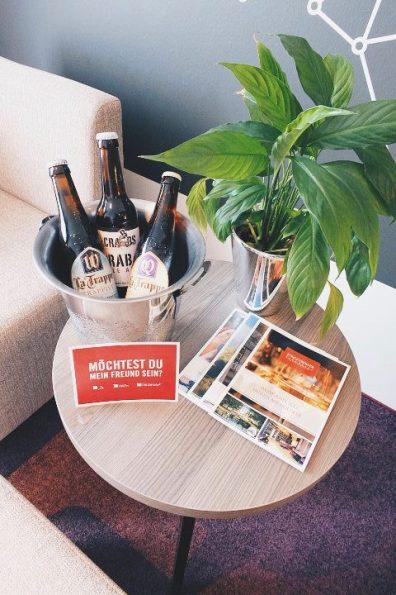 Review Steigenberger Parkhotel Braunschweig Junior Suite Willkommensgeschenk Treatment