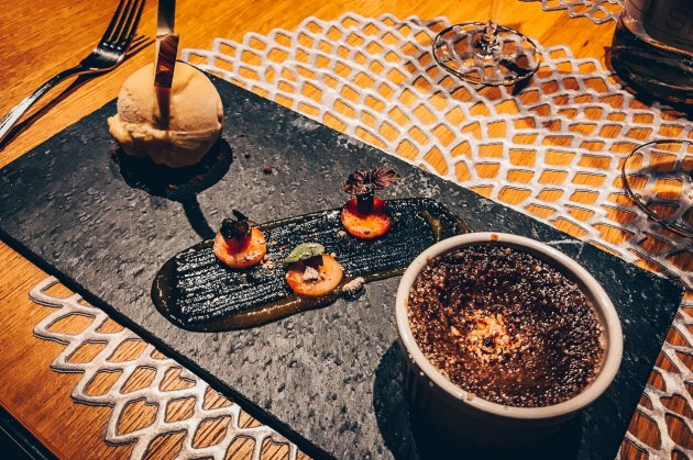 Review Lindner Hotel Wiesensee Steakhouse mooq Dessert