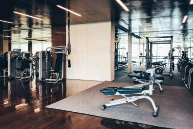 Hotel Review Bangkok Gym
