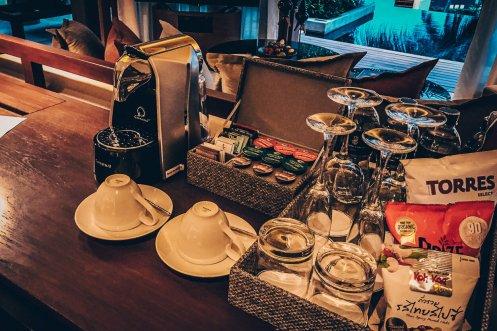Review The Ritz-Carlton Koh Samui Pool Villa Kaffeemaschine
