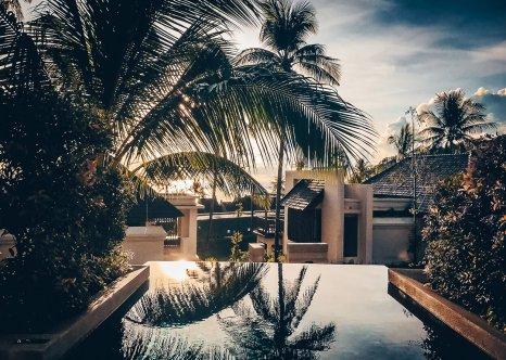 Review The Ritz-Carlton Koh Samui Pool Villa Ausblick