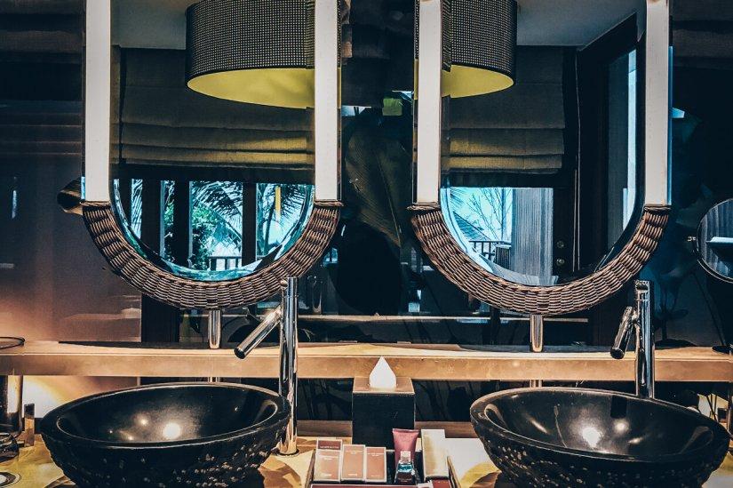 Review The Ritz-Carlton Koh Samui Badezimmer Pool Villa