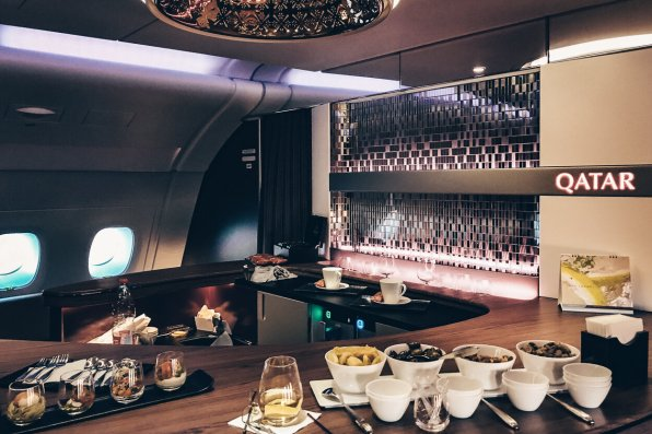 Review Qatar Airways First Class Bangkok Airbus A380