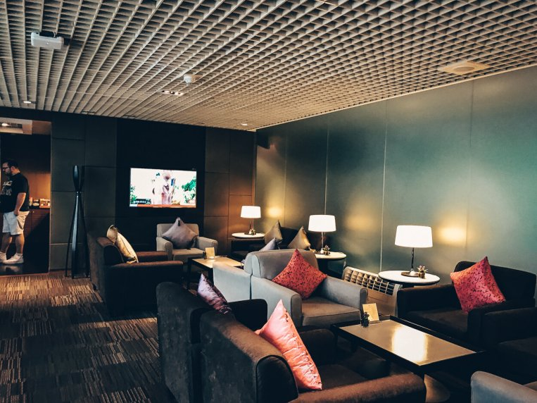 Thai Airways First Class Lounge