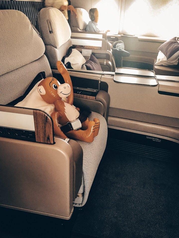 Qatar Airways First Class Airbus A380 Doha - Bangkok