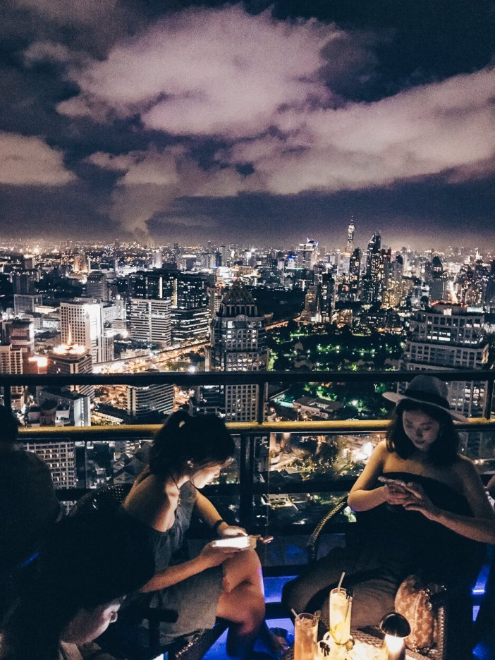 Review Banyan Tree Bangkok Vertigo and Moon Bar Top 10 Rooftop Bars Cocktails