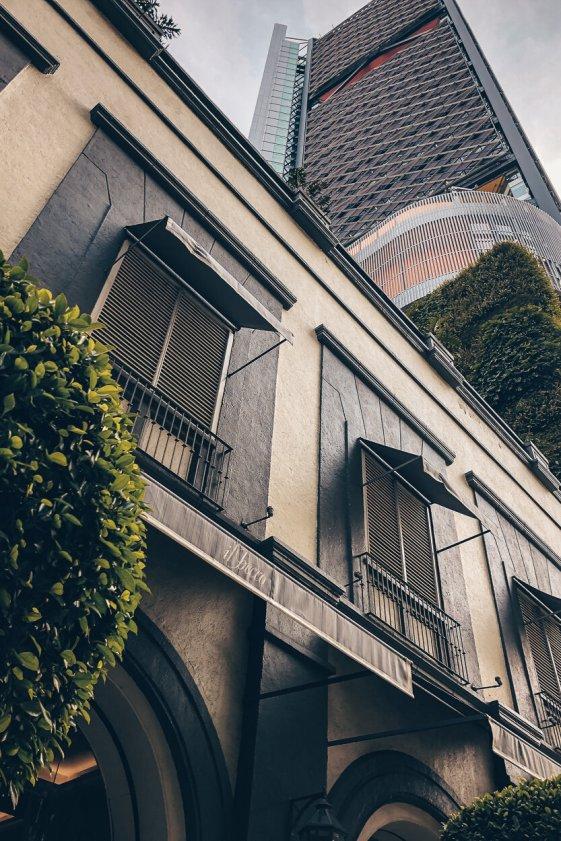 Review Four Seasons Mexico City Aussenfassade