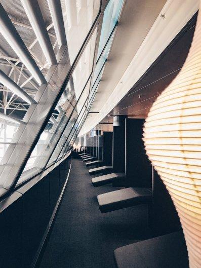 Neue Swiss Business und Senator Lounges Zürich A Ruhebereich