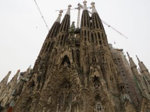 Famous Cathedral of Barcelona