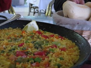 Paella from Seville