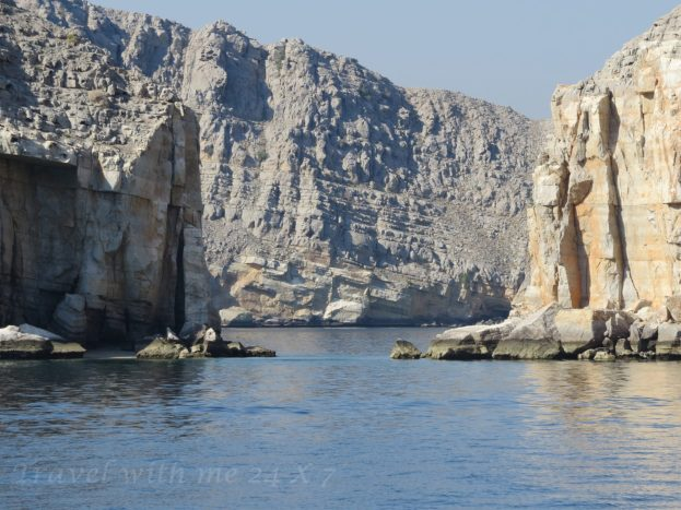sailing across fjords