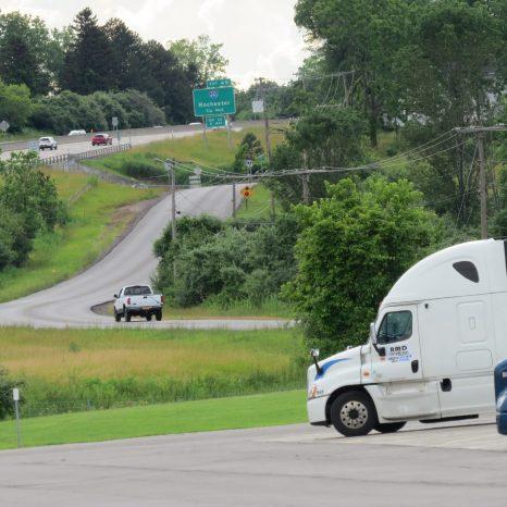 Roads leading to Buffalo