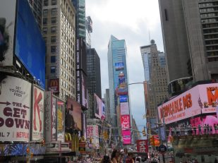 A day at Times Square