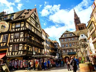 Visit to Strasbourg from Paris