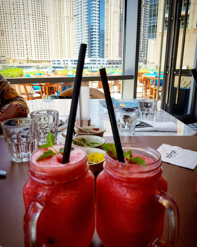 Reviews of Zafran Indian Bistro - Lunch with a view