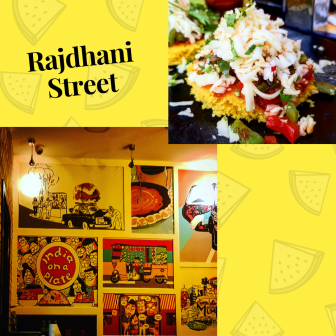Rajdhani Street dubai - Indian Street Food fusion