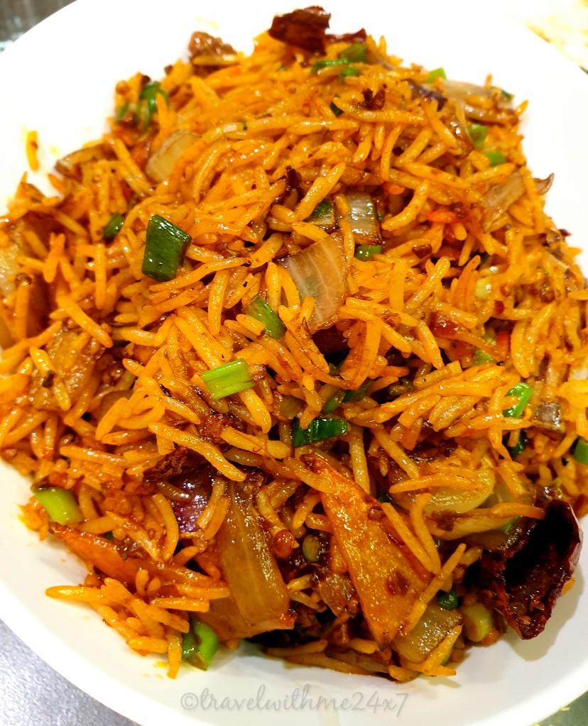 Amazing fusion food at Yummy Dosa - Indian Food tour in Dubai