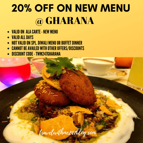 Current offers or Deals at Gharana