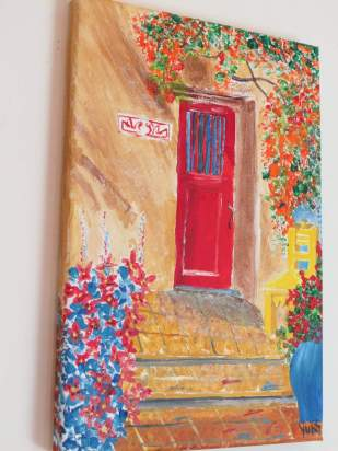Paintings of Doors and Windows by Travelwithme24x7