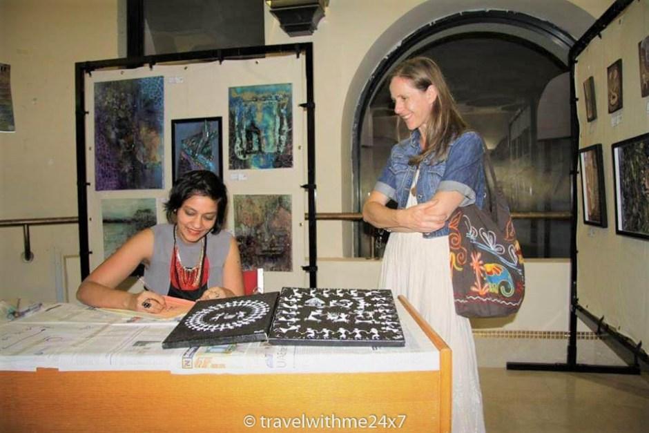 Indian tribal art - Warli art workshop