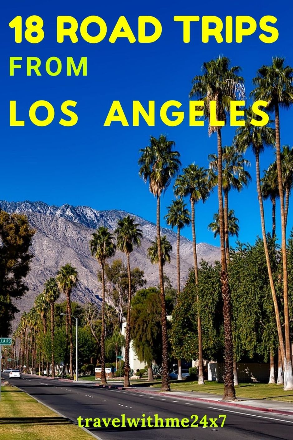 road trips from LA