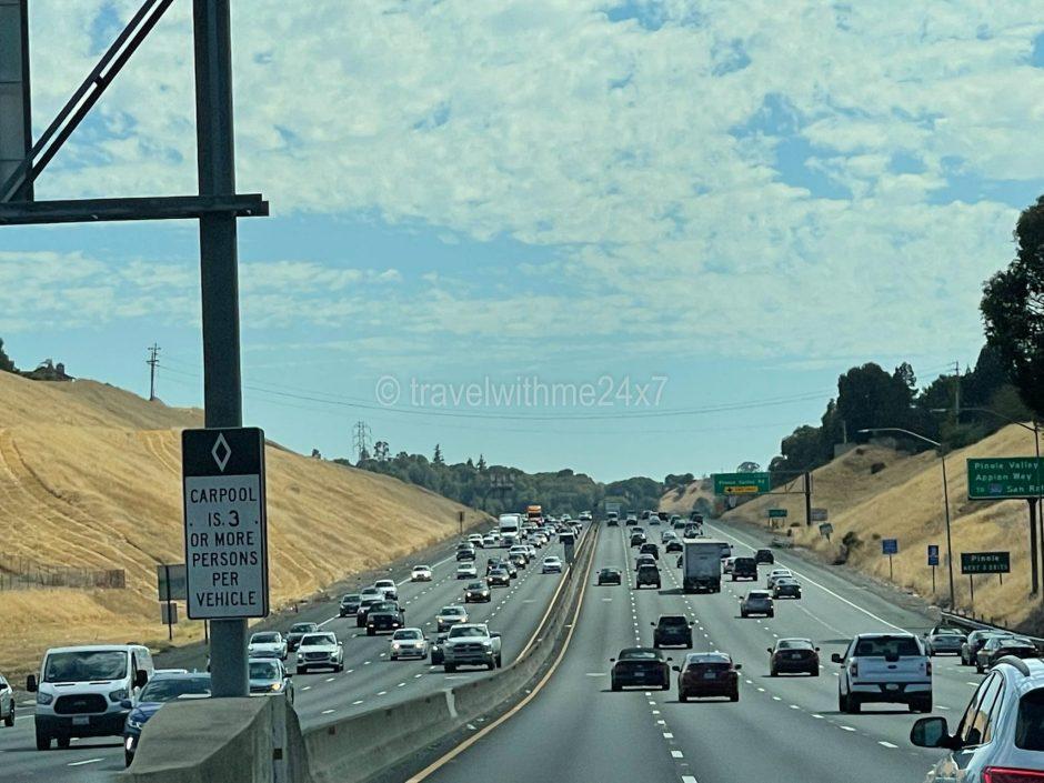 California road trip idea for families