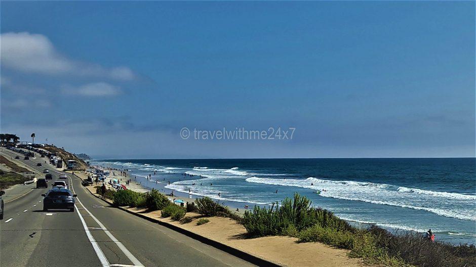 Torre Pine beach near San Diego California -Beautiful & Prettiest beaches In California - Best Beaches In California