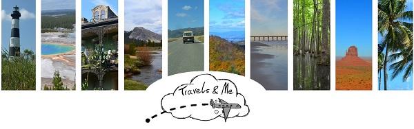 Logo Travels & Me blog expatriation et voyages aux USA