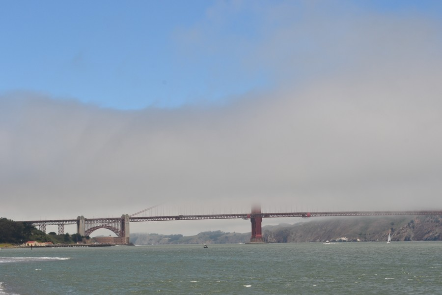 Golden Gate dans la brume San Francisco