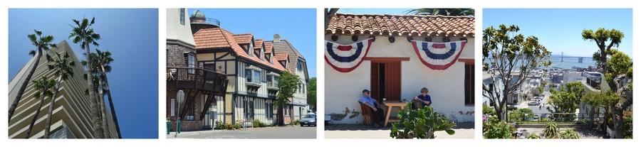 Building et ambiance latine en Californie