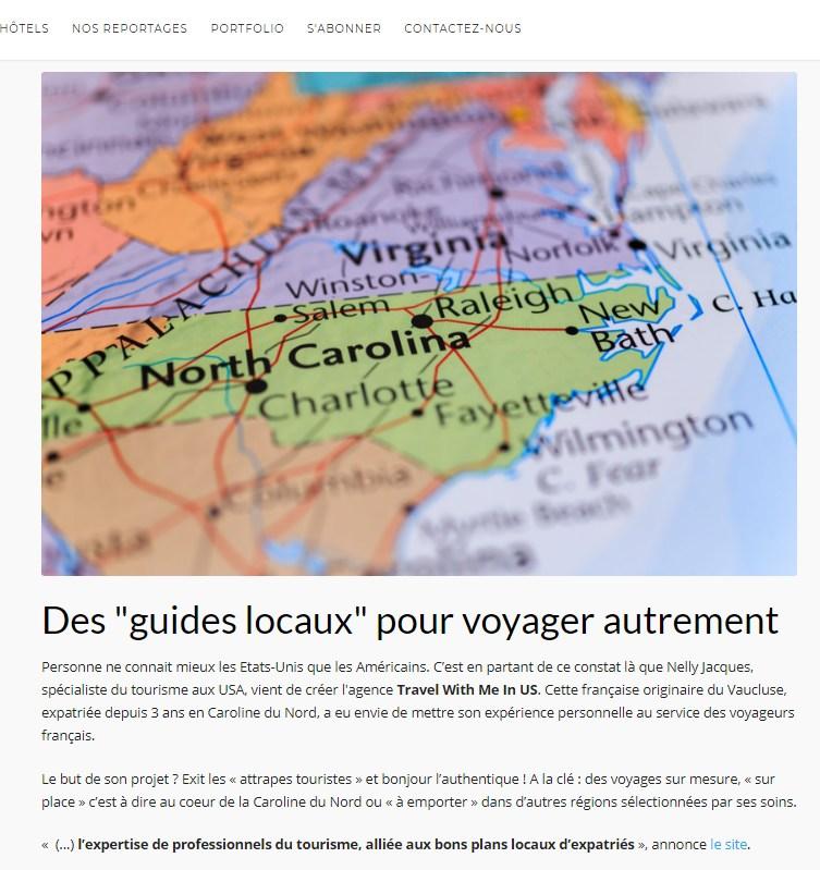 Capture Voyager Ici et Ailleurs - Presse